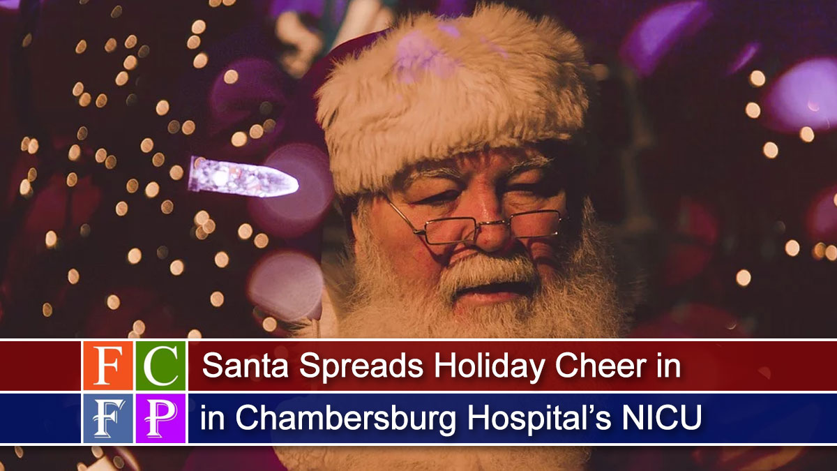 Santa Spreads Holiday Cheer in Chambersburg Hospital's NICU