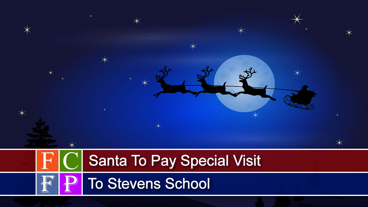 Santa To Pay Special Visit To Stevens School