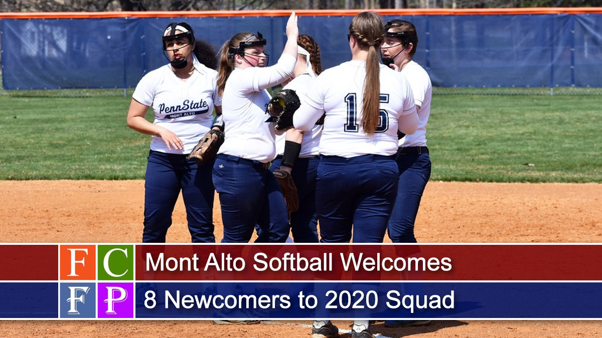 Mont Alto Softball Welcomes 8 Newcomers to 2020 Squad