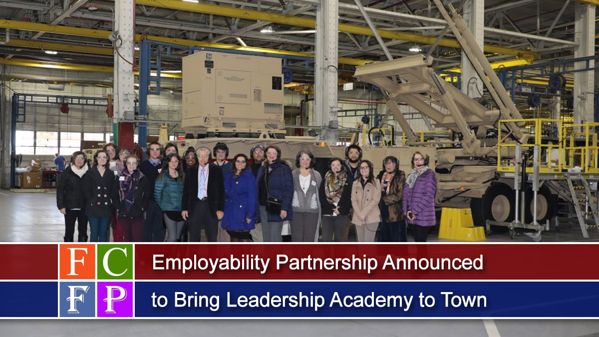 Employability Partnership Announced to Bring Leadership Academy to Town