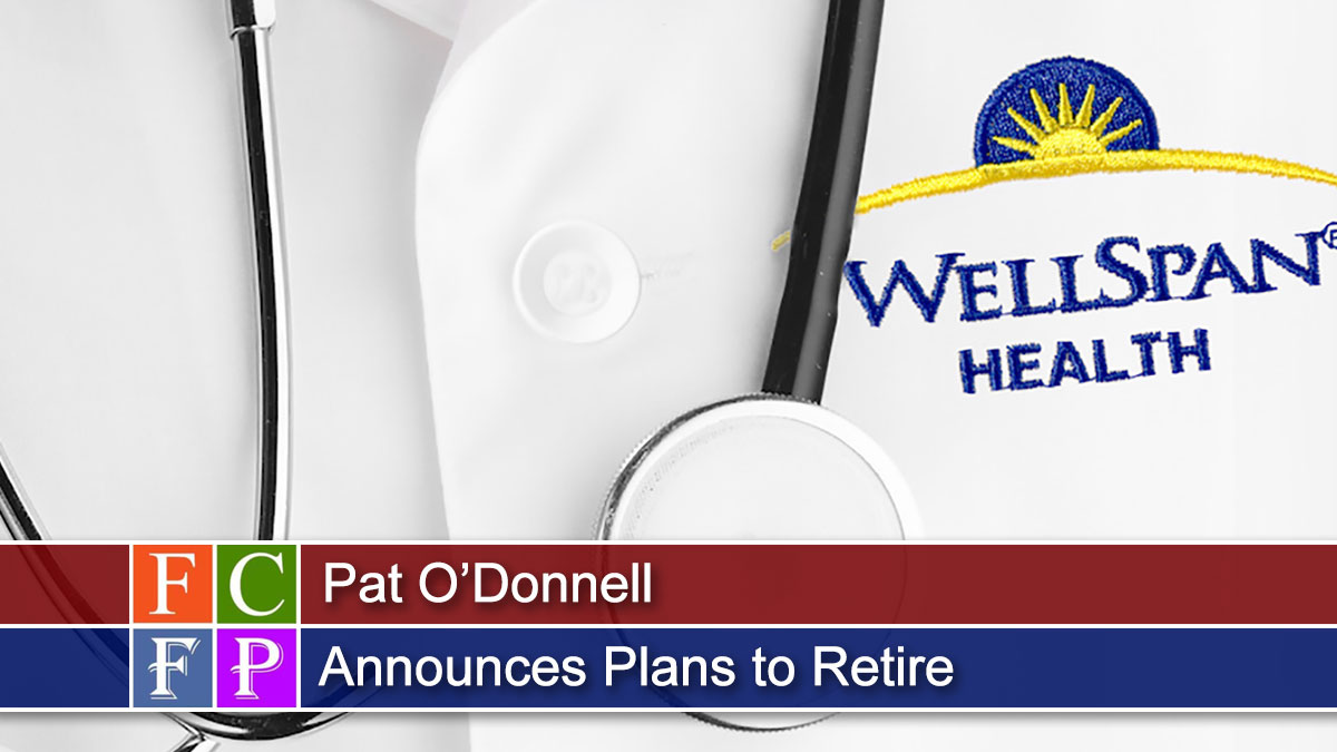 Pat O'Donnell Announces Plans to Retire