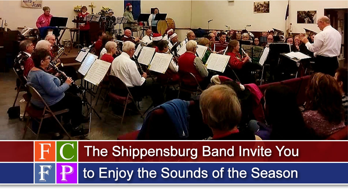 The Shippensburg Band Invite You to Enjoy the Sounds of the Season