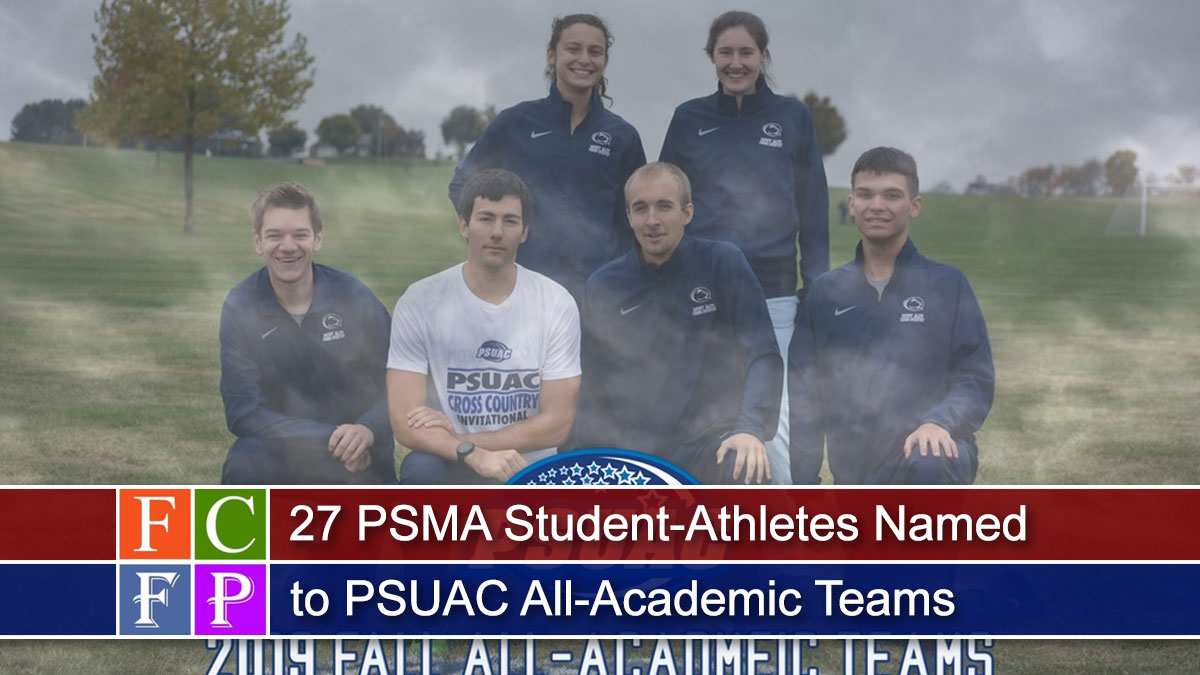27 PSMA Student-Athletes Named to PSUAC All-Academic Teams