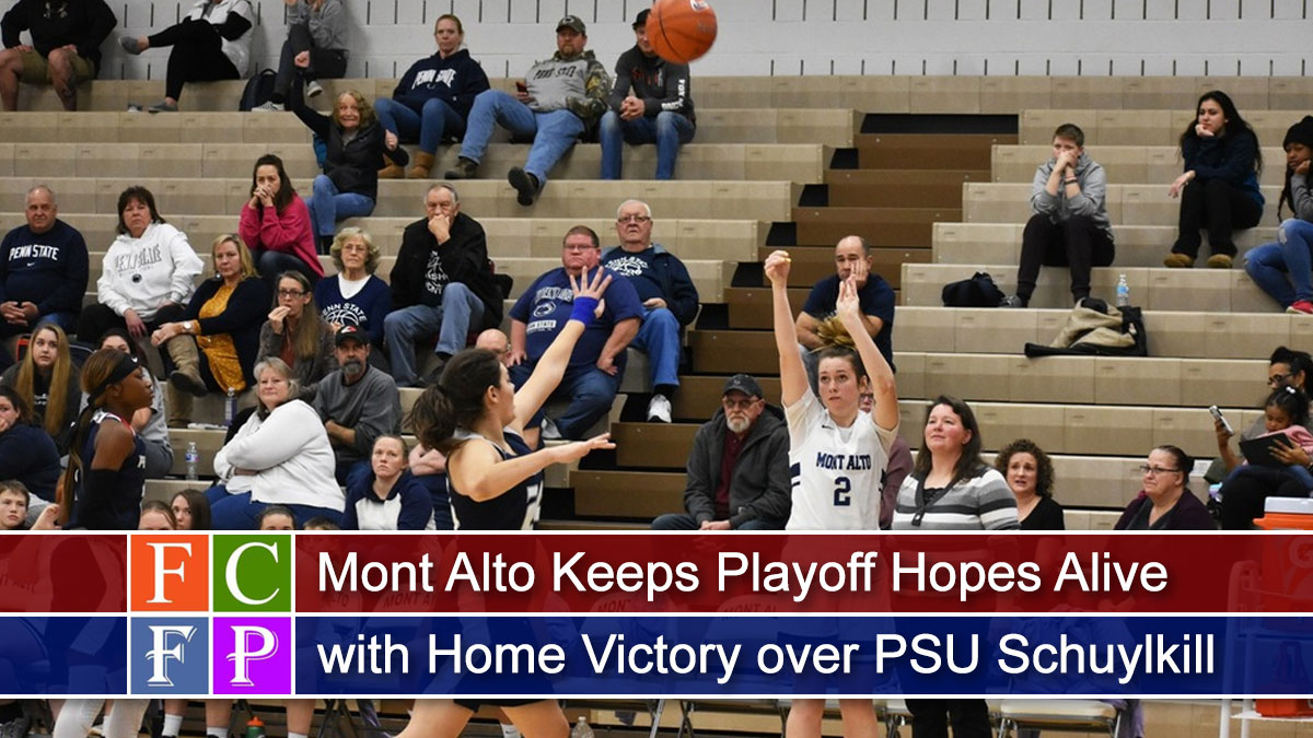 Mont Alto Keeps Playoff Hopes Alive with Home Victory over PSU Schuylkill