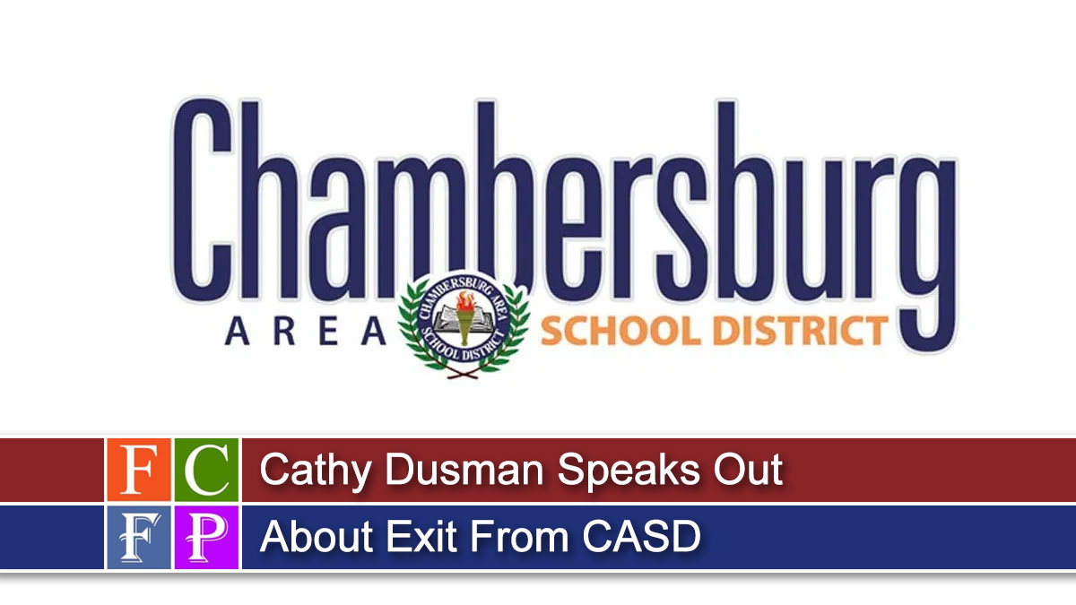 Cathy Dusman Speaks Out About Exit From CASD