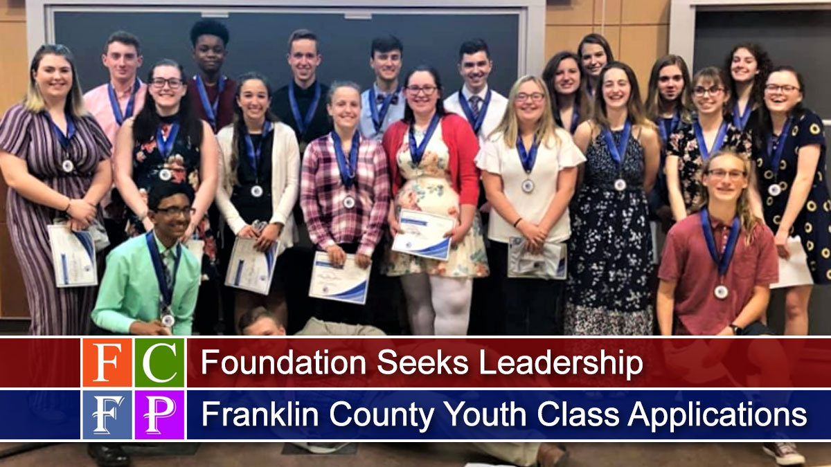 Foundation Seeks Leadership Franklin County Youth Class Applications