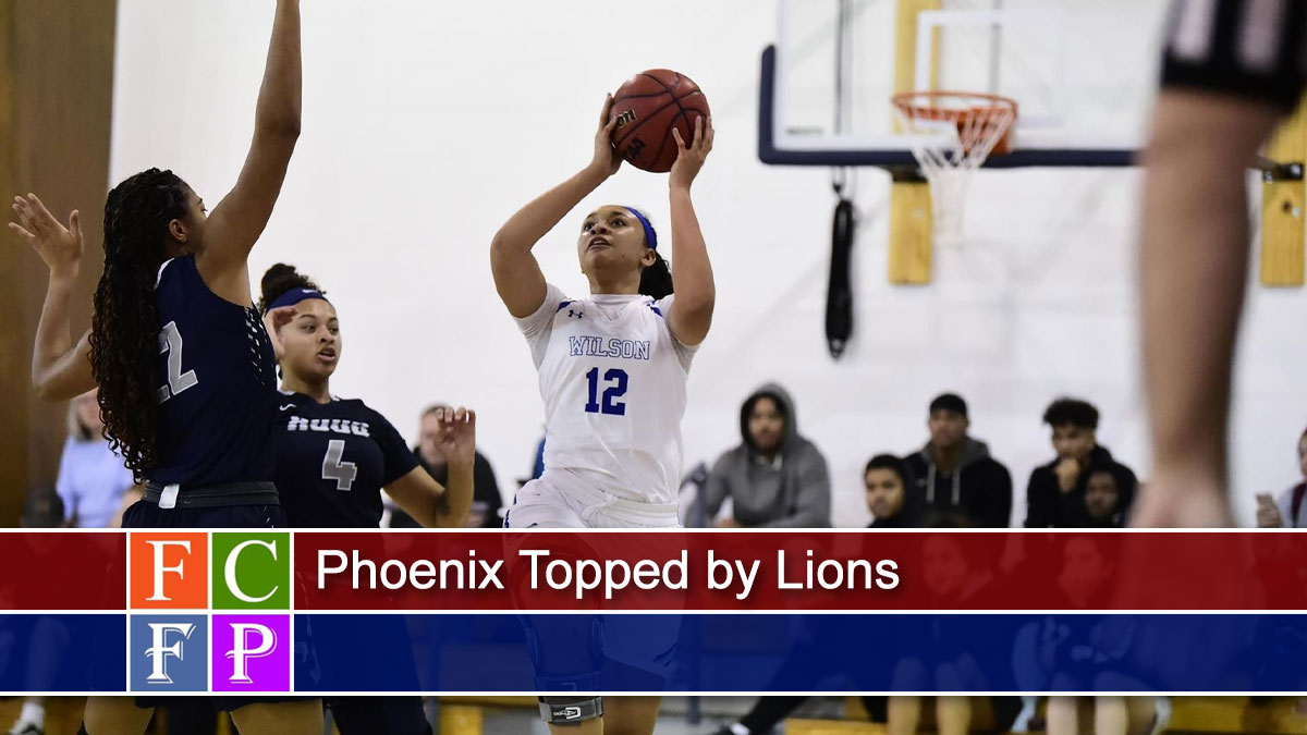 Phoenix Topped by Lions