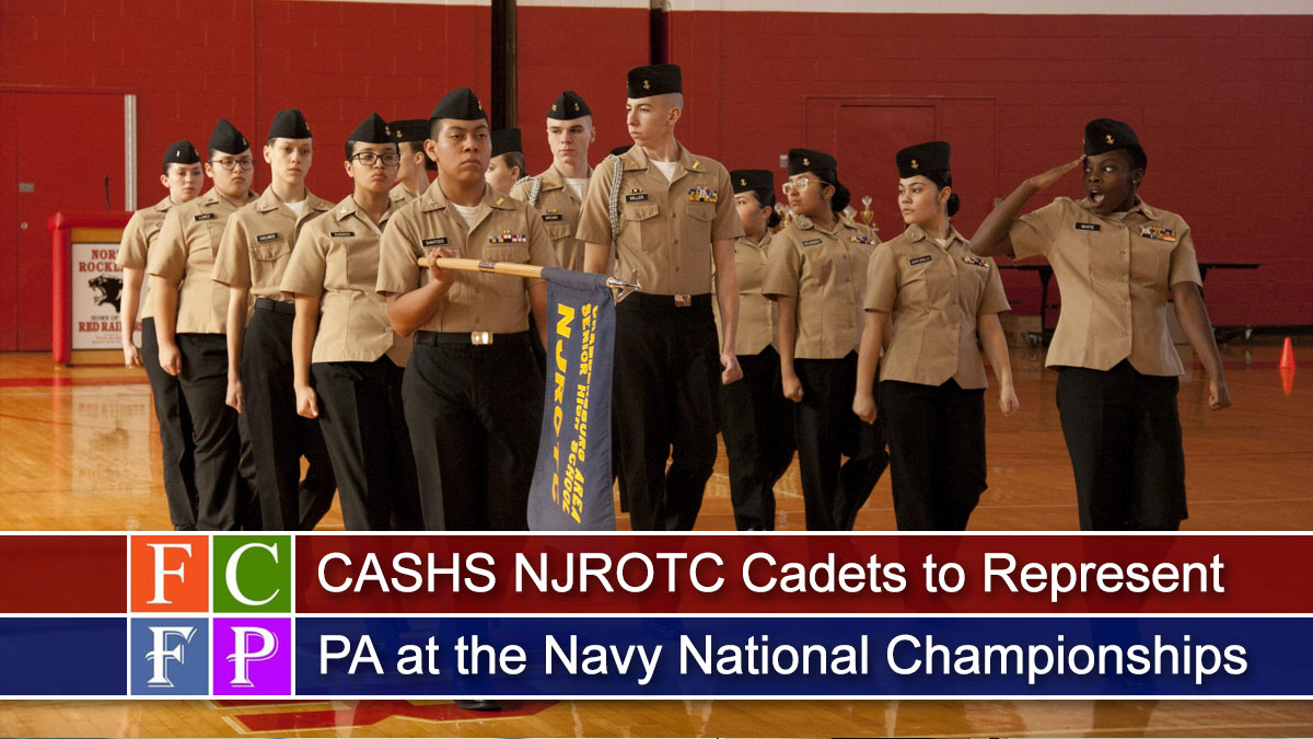 CASHS NJROTC Cadets to Represent Pennsylvania at the Navy National Championships