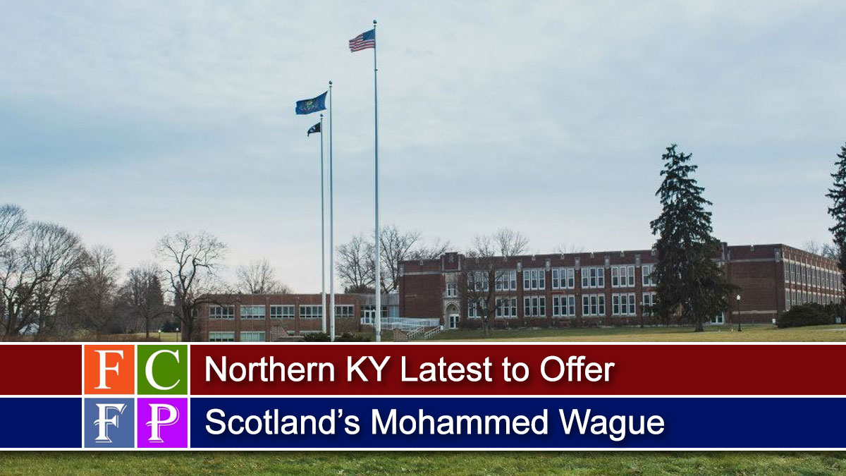 Northern KY Latest to Offer Scotland's Mohammed Wague