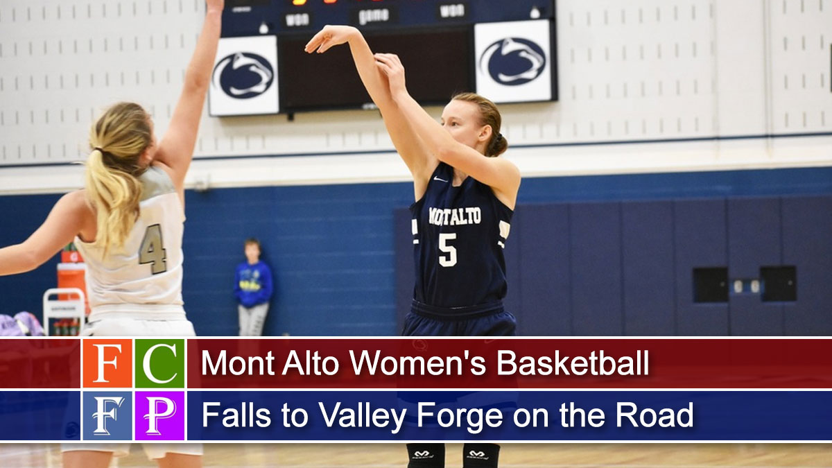 Mont Alto Women's Basketball Falls to Valley Forge on the Road