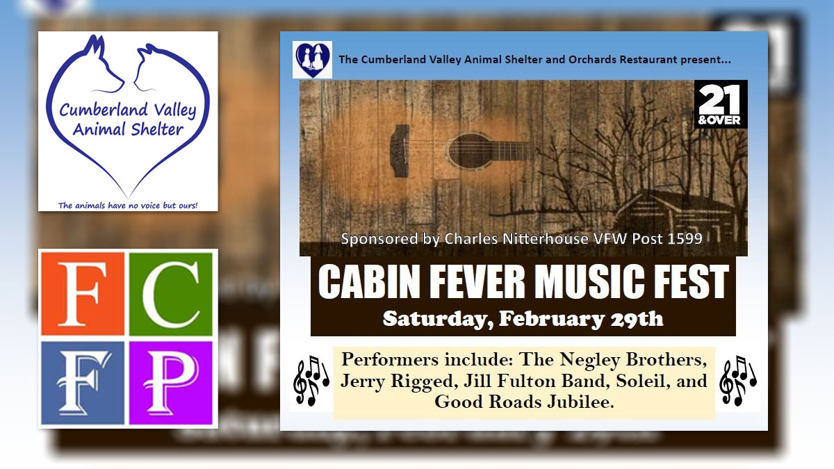 Feb 29: CVAS Cabin Fever Music Fest