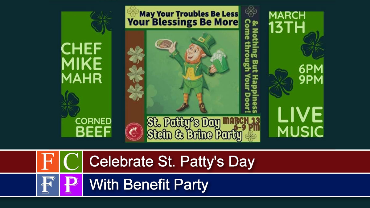 Celebrate St. Patty's Day With Benefit Party