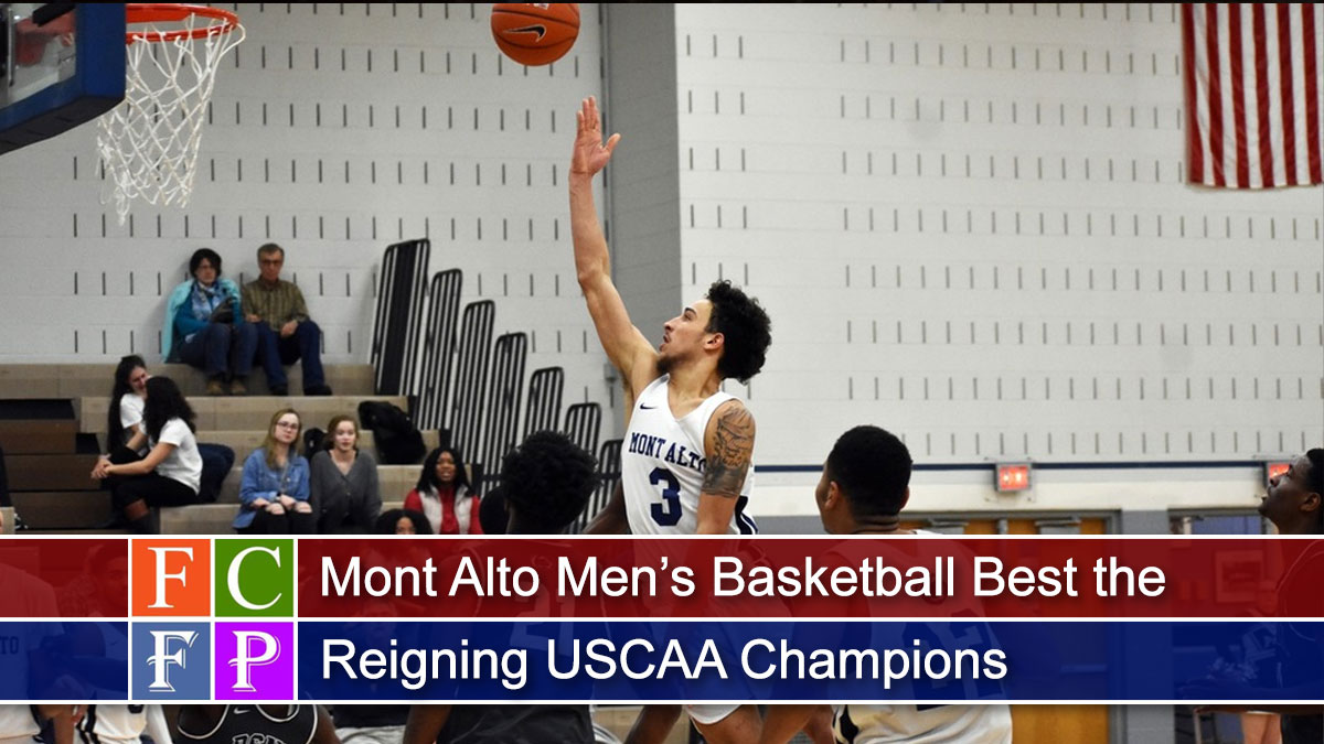 Mont Alto Men's Basketball Best the Reigning USCAA Champions