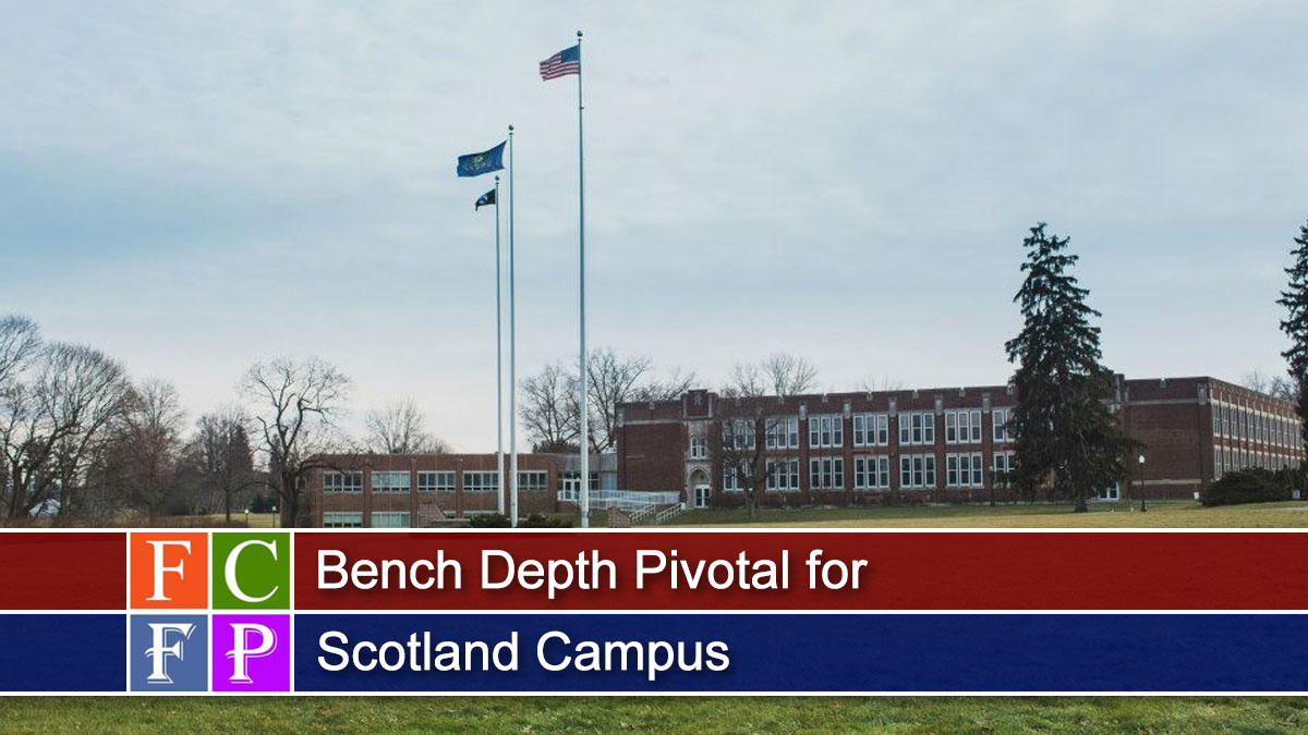 Bench Depth Pivotal for Scotland Campus