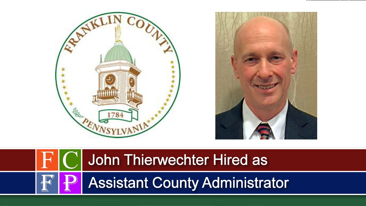 John Thierwechter Hired as Assistant County Administrator