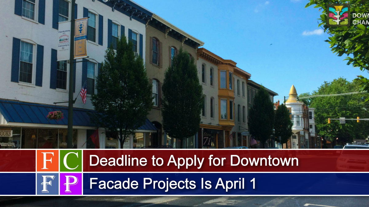 Deadline to Apply for Downtown Facade Projects Is April 1