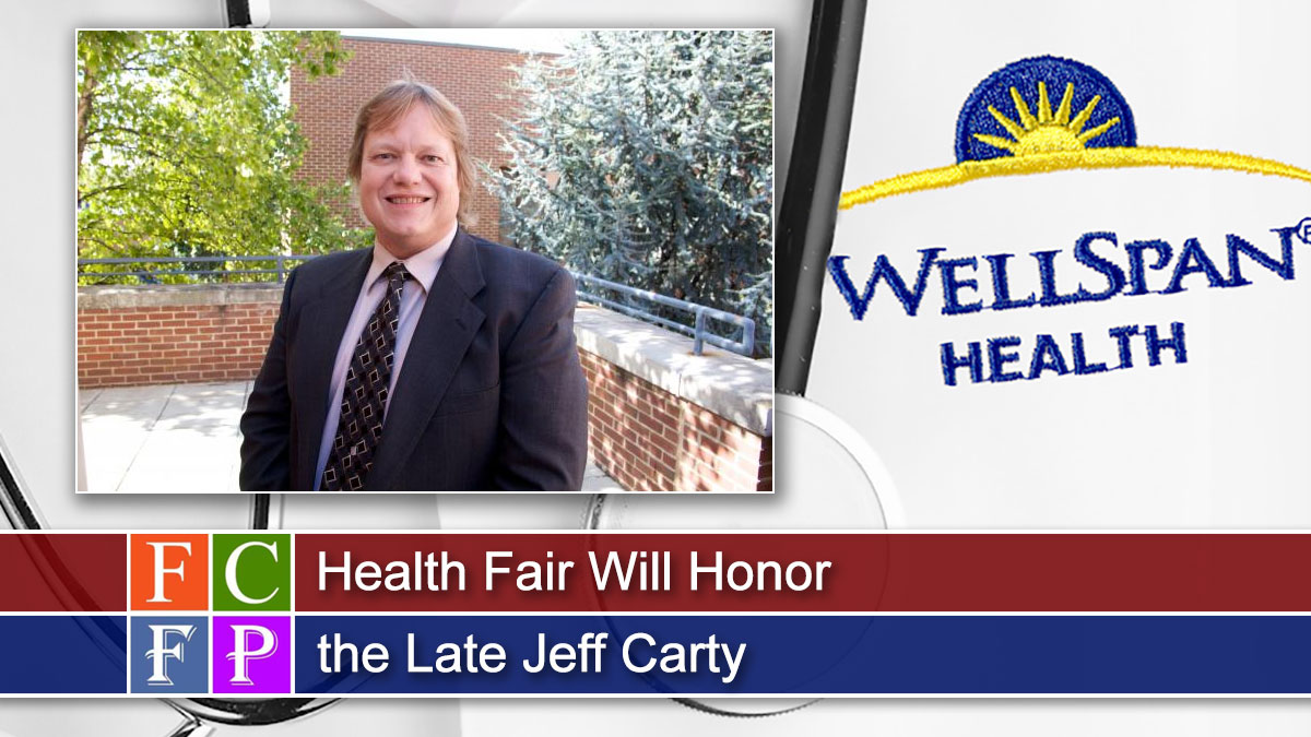 Health Fair Will Honor the Late Jeff Carty