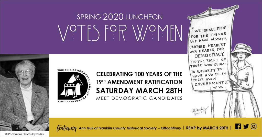 Votes for Women - Spring 2020 Luncheon