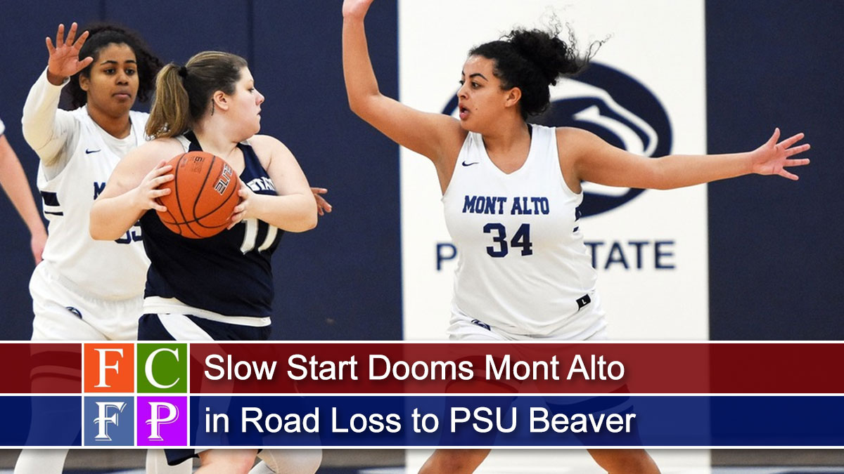 Slow Start Dooms Mont Alto in Road Loss to PSU Beaver