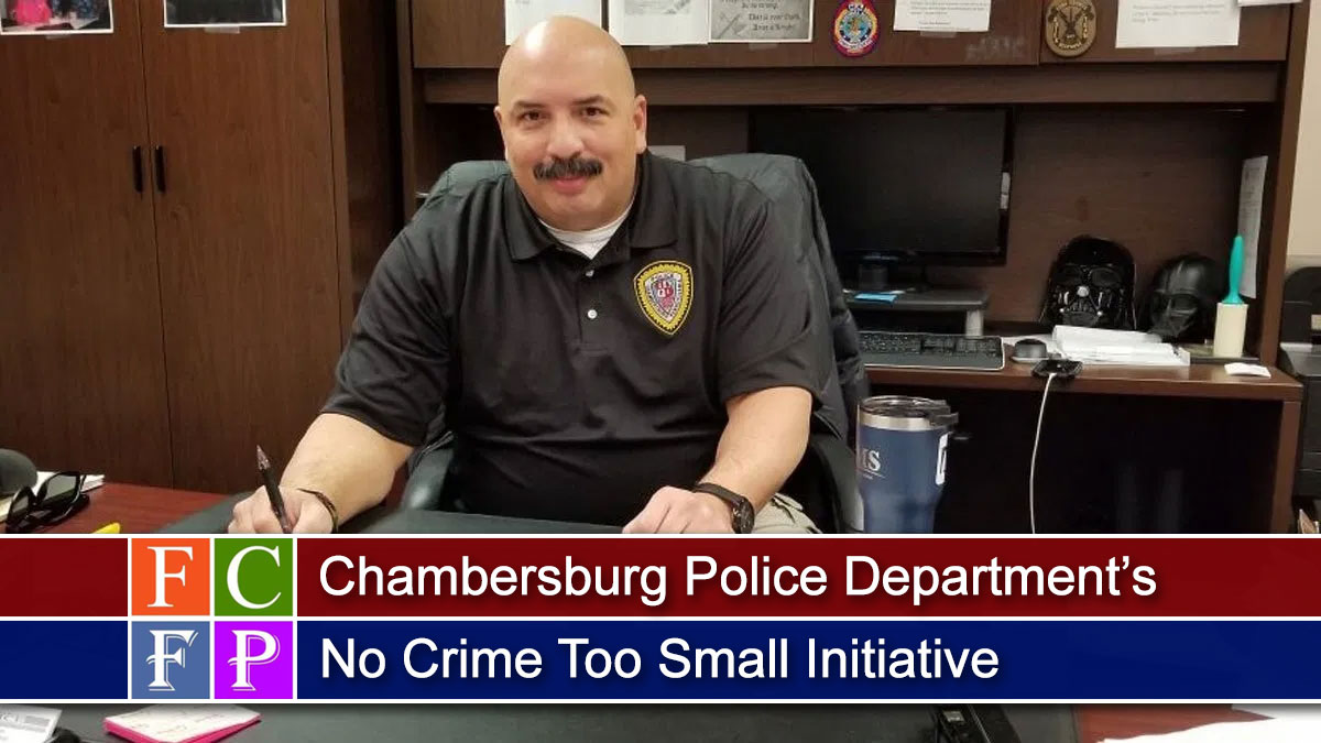 CPD's No Crime Too Small Initiative