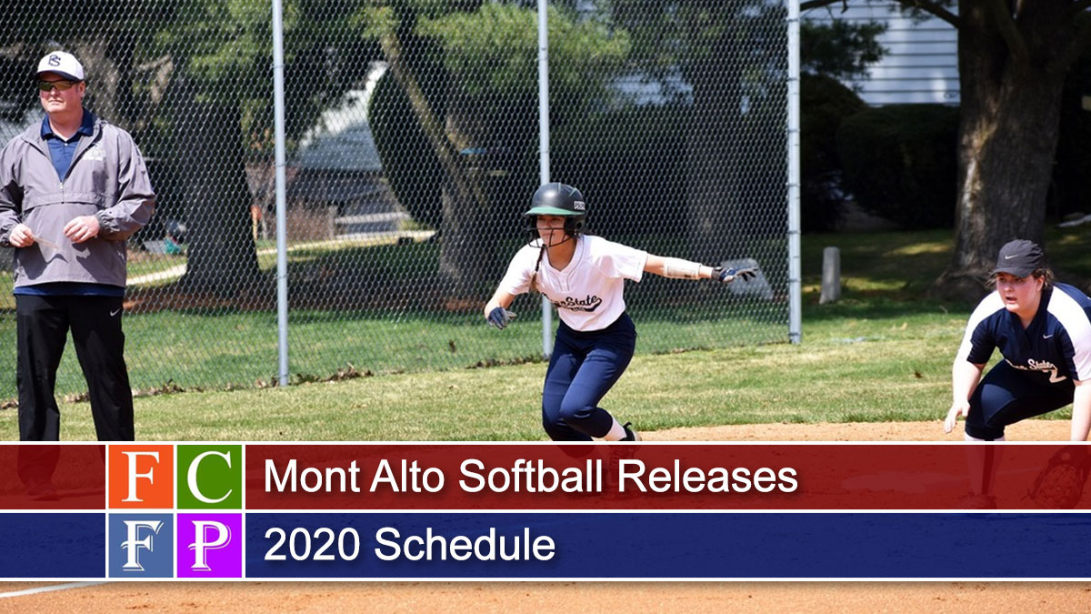 Mont Alto Softball Releases 2020 Schedule