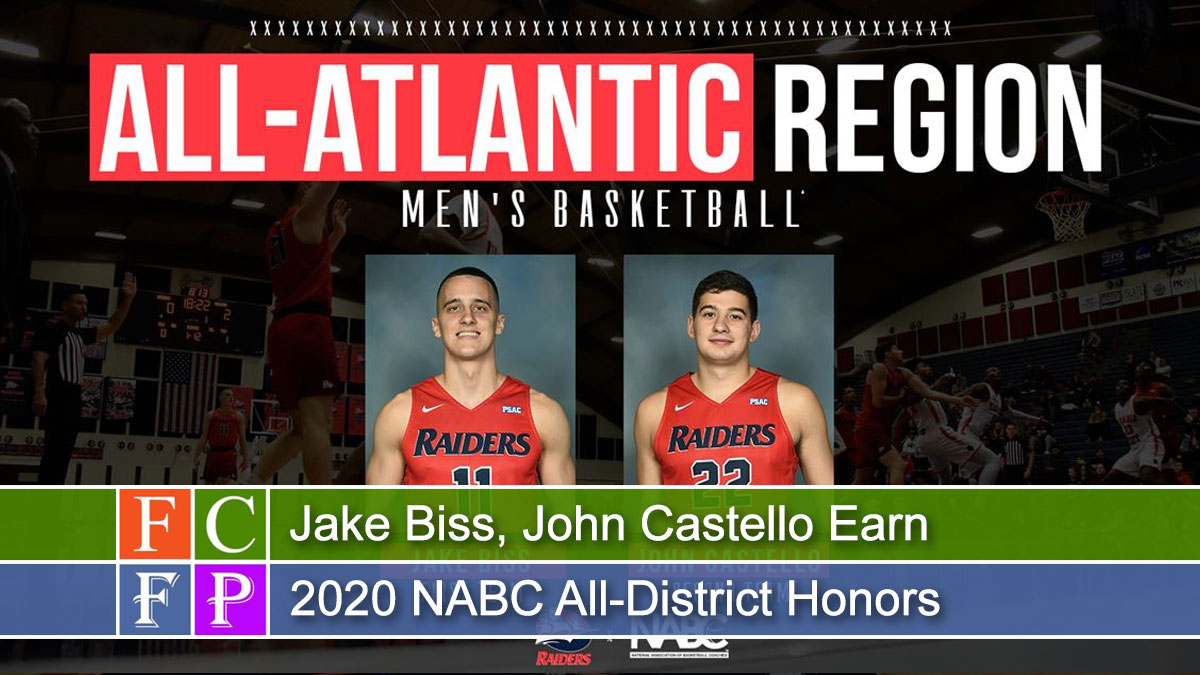Jake Biss, John Castello Earn 2020 NABC All-District Honors