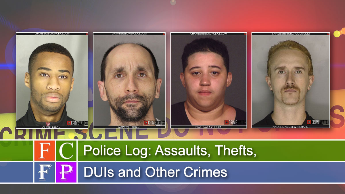 Police Log: Assaults, Thefts, DUIs and Other Crimes