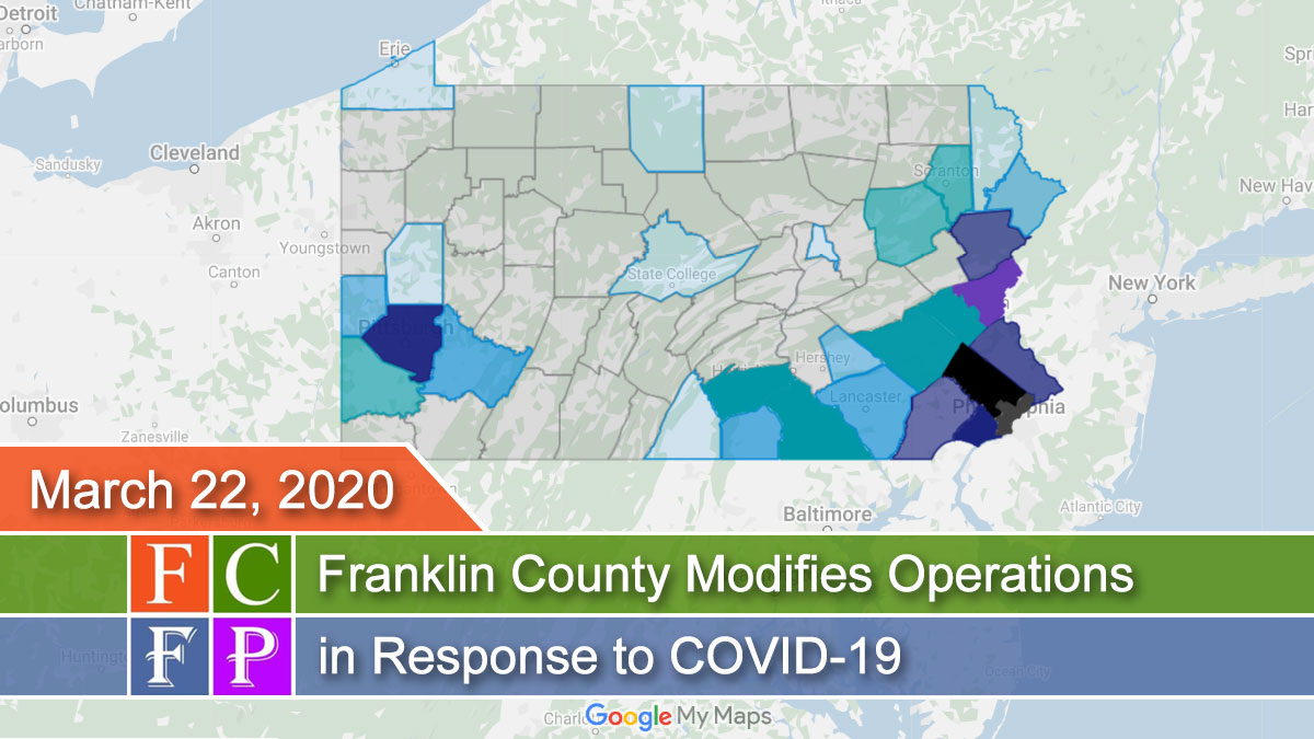 Franklin County Modifies Operations in Response to COVID-19