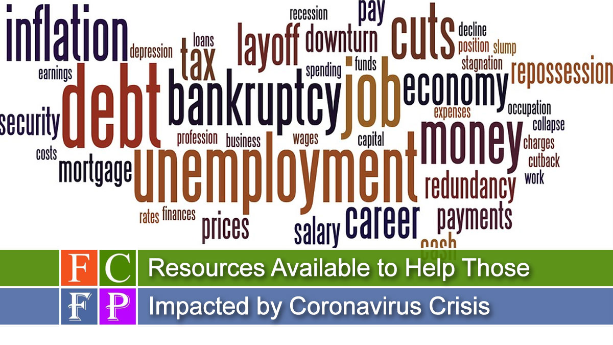 Resources Available to Help Those Impacted by Coronavirus Crisis