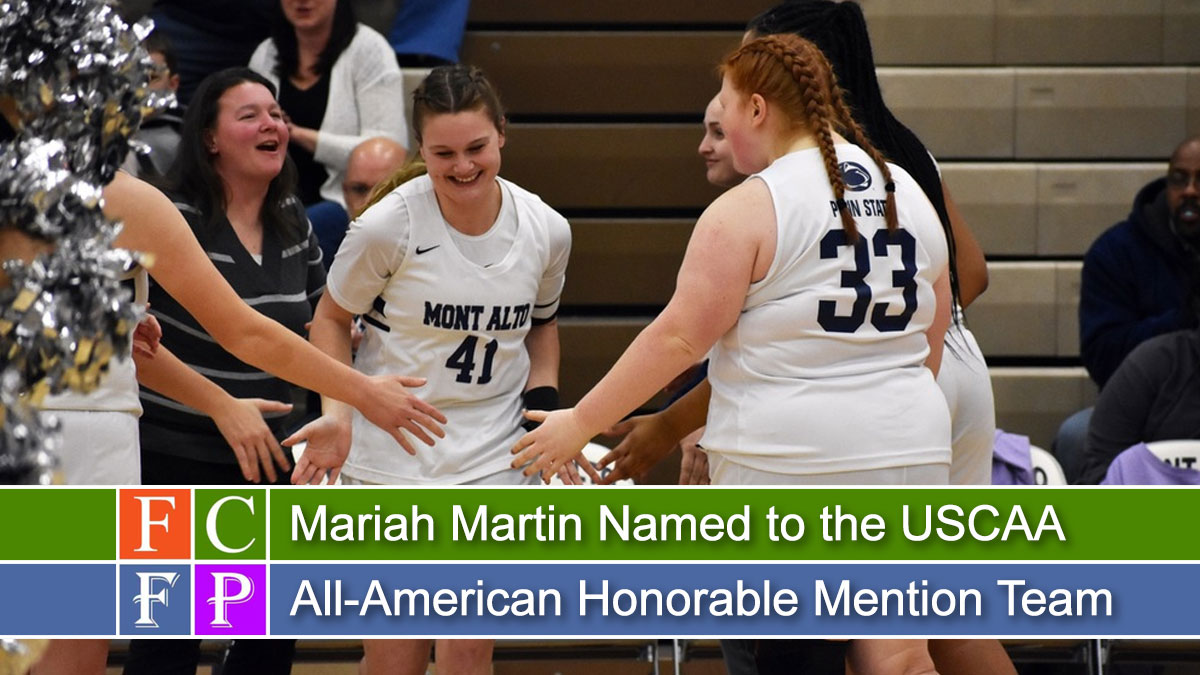 Mariah Martin Named to the USCAA All-American Honorable Mention Team