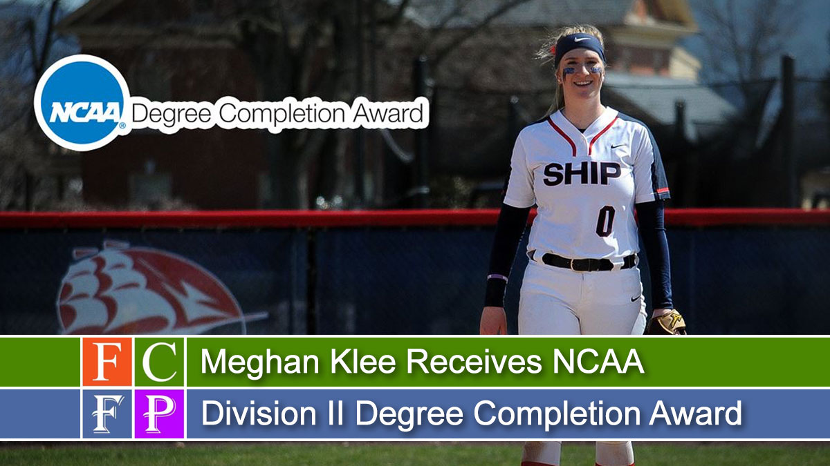Meghan Klee Receives NCAA Division II Degree Completion Award