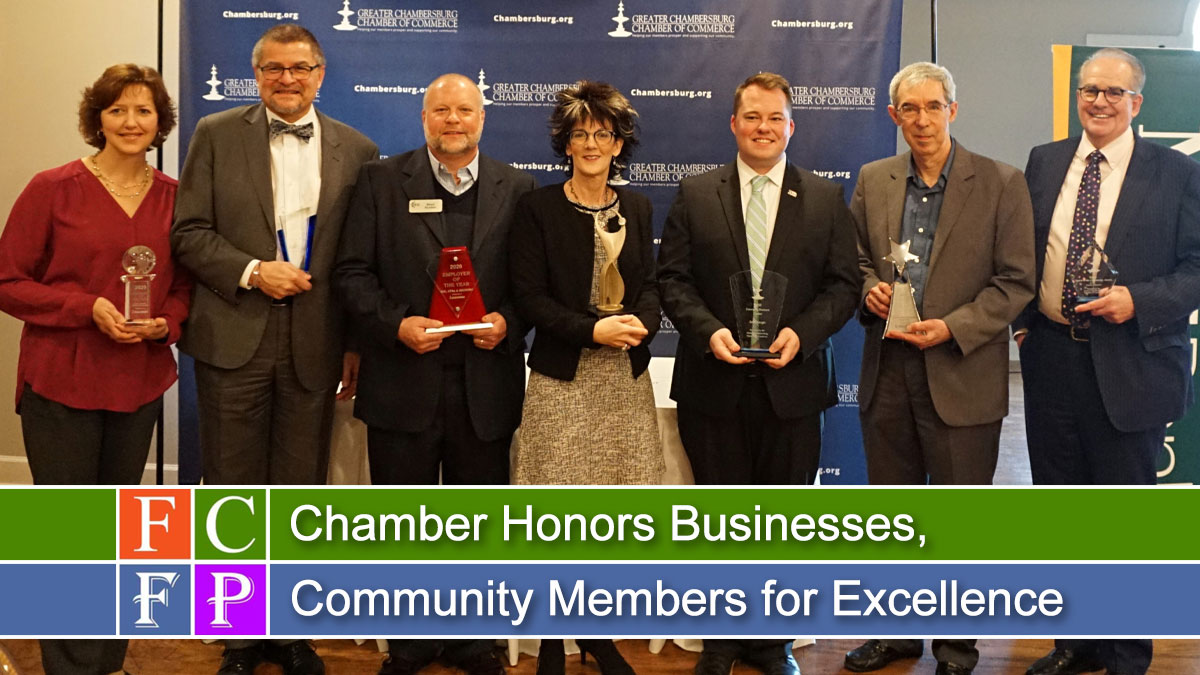 Chamber Honors Businesses, Community Members for Excellence