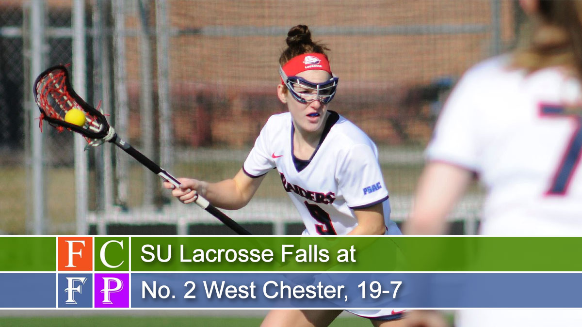 SU Lacrosse Falls at No. 2 West Chester, 19-7