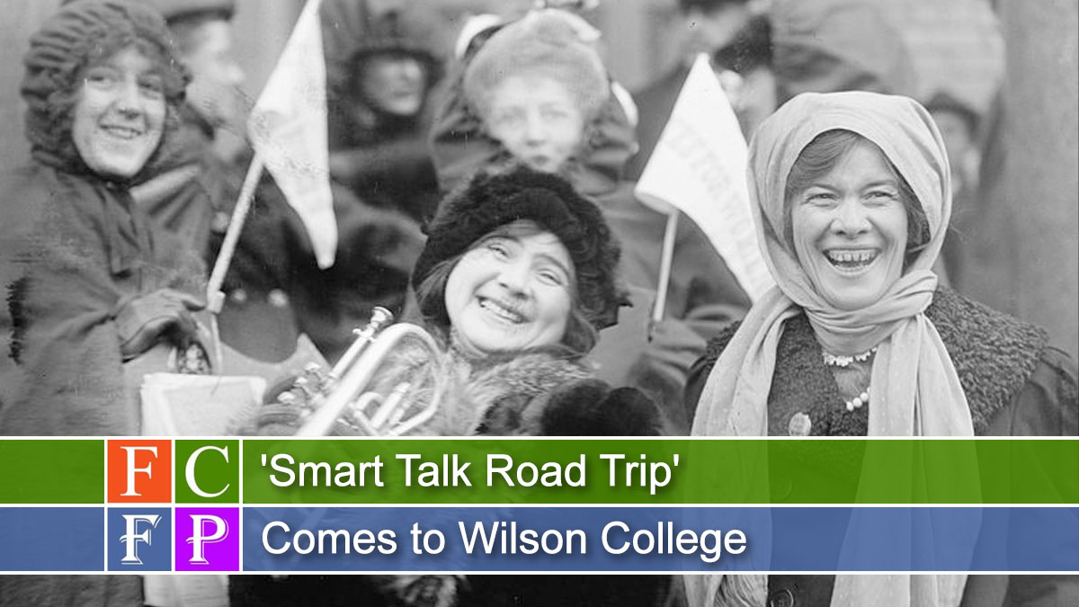 'Smart Talk Road Trip' Comes to Wilson College