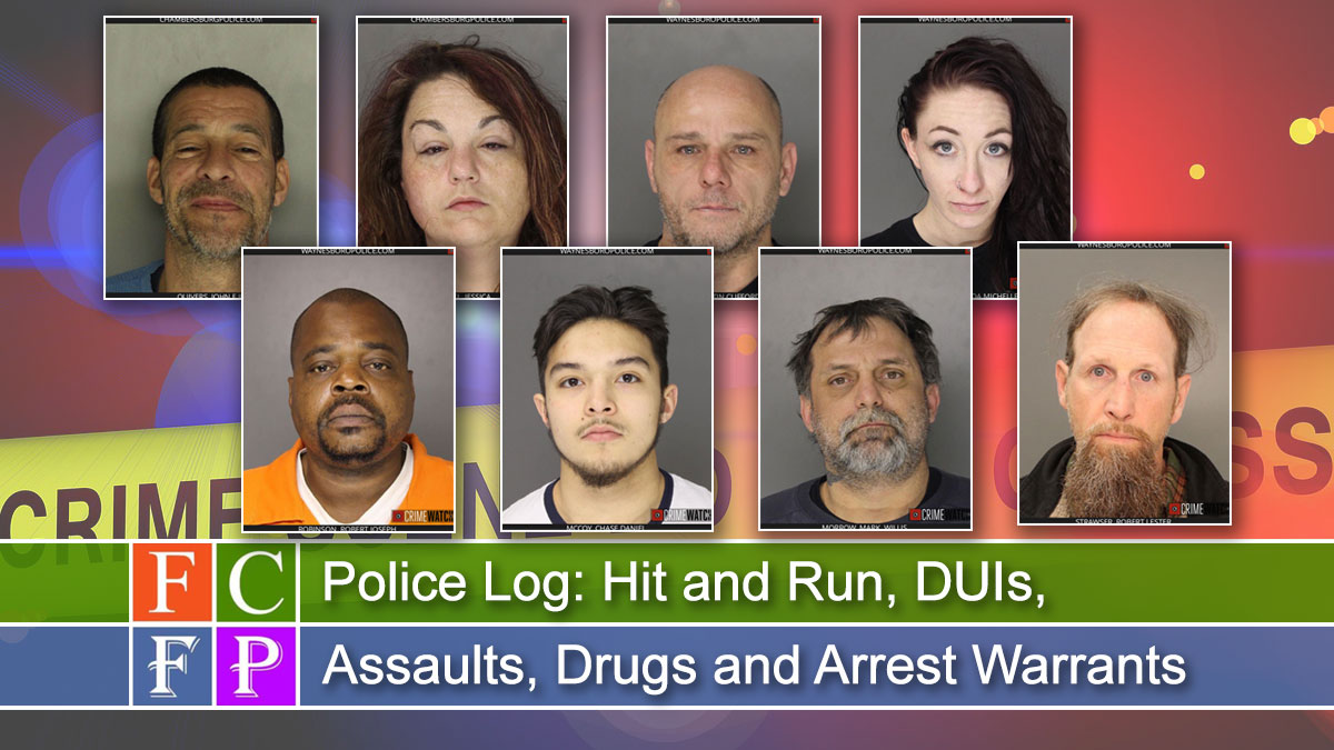 Police Log: Hit and Run, DUIs, Assaults, Drugs and Arrest Warrants