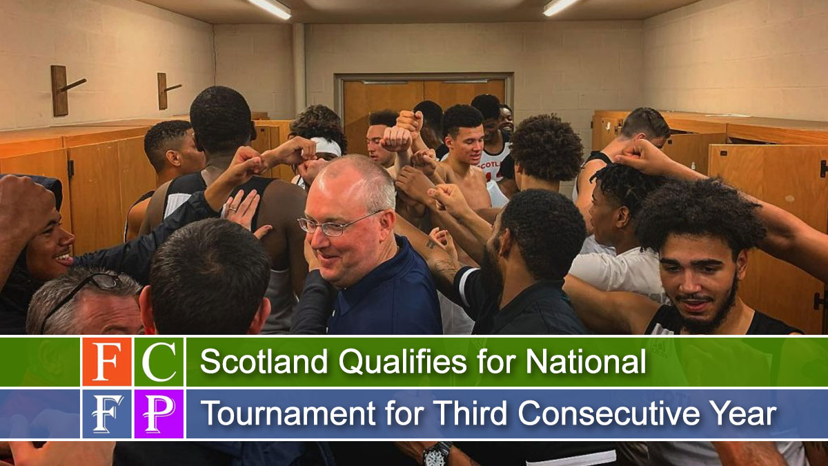 Scotland Qualifies for National Tournament for Third Consecutive Year