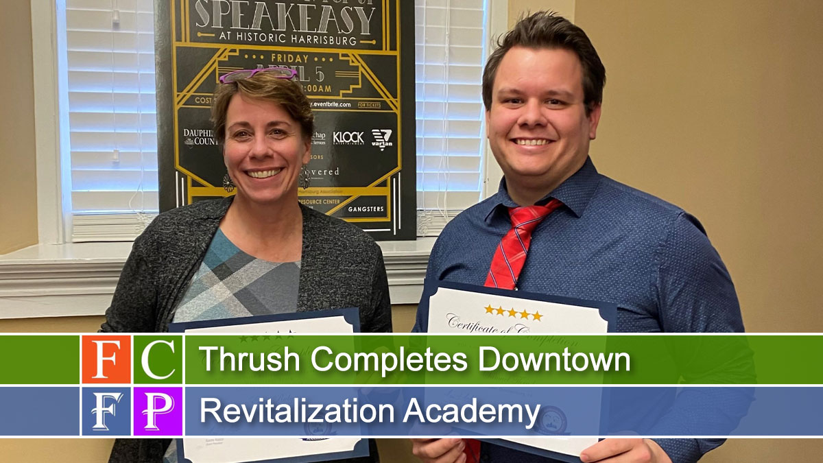 Thrush Completes Downtown Revitalization Academy