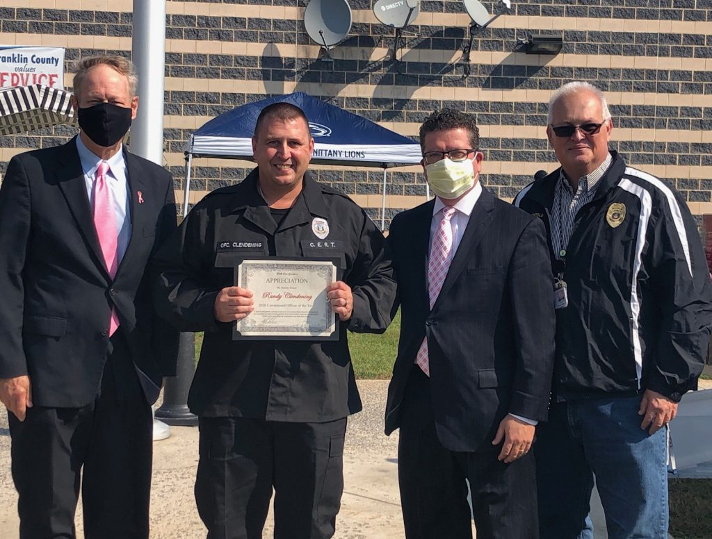Correctional workers honored