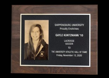 Kuntzmann inducted into Hall