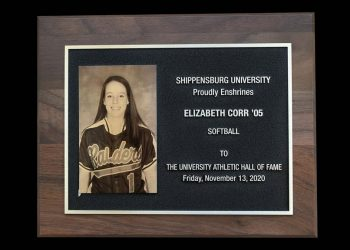 Elizbeth Corr inducted